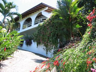 "Manuel Antonio villa photo - Your private drive to ""Voted Most Romantic Villa"", lush gardens abound!"