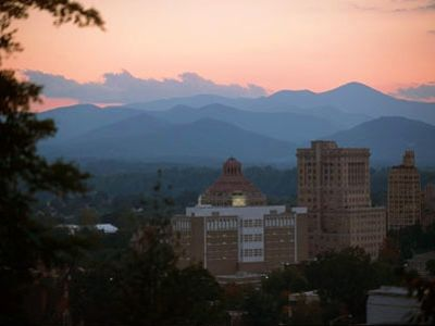 Asheville condo rental - Asheville skyline