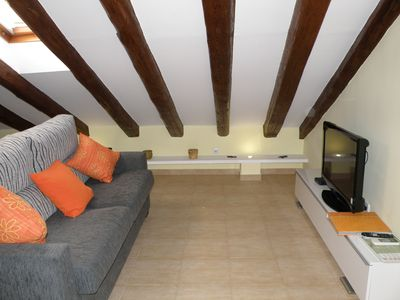 Sofa and TV zone