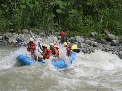 Famous white water rafting