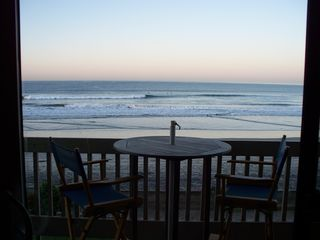 Oceanside condo photo - Peaceful sunrise view for early risers