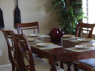 Dining table for 6 - Palm Desert condo vacation rental photo