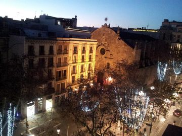 View from the terrace in Christmas days