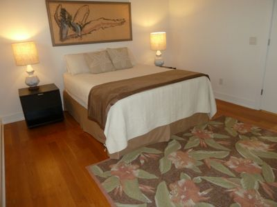 Kure Beach house rental - Another Picture showing the New Rug
