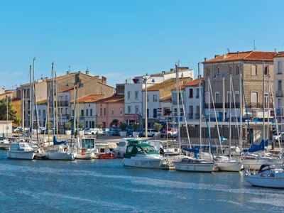 Large apartment in the heart of the village vrbo - Independant port la nouvelle ...