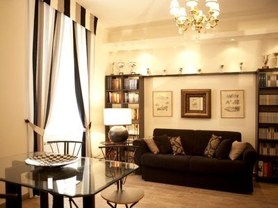 Villa Borghese & Parioli area apartment rental - Apartment 'Gold' living room