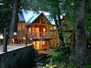 The Stream Runs Past the Front Door - Sundance house vacation rental photo