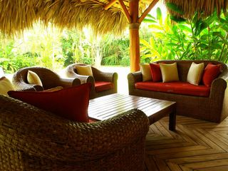 Las Terrenas villa photo - Lounge