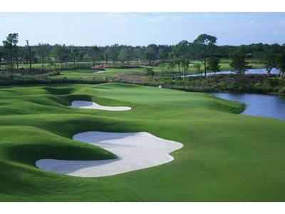 Treviso Bay boasts 18 holes of picturesque and beautifully maintained golf