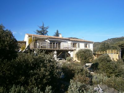 Villa With Private Heated Pool, Magnificent Mountain & Sea Views