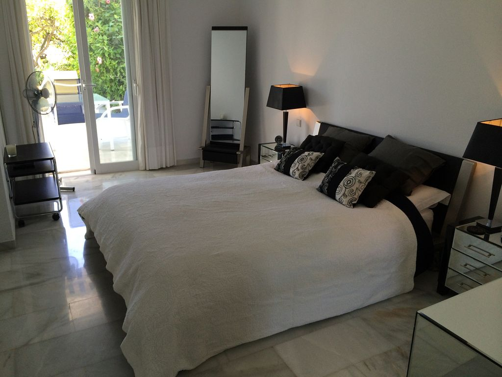 Ground Floor Apartment With Large Private Homeaway Marbella Area
