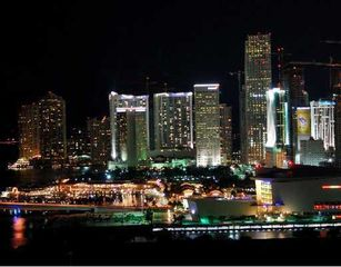 Miami apartment photo - View on the night