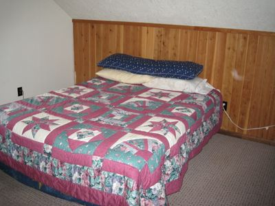Garden Valley cabin rental - Loft Sleeping Area 2
