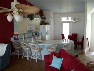North Topsail Beach house photo - Kitchen/dining area
