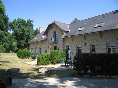 3 Cottages with outdoor pool in the Loire Valley perfect for families, couples - 3 Cottages together sleep16