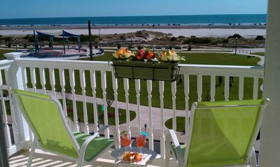 Look at this VIEW!!  All that's missing is YOU!!  Oceanfront Condo