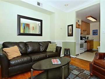Baltimore house rental - Living Room