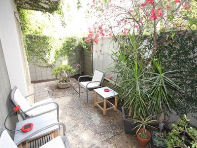 Brentwood condo rental - Private Patio