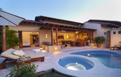Plunge pool and spa