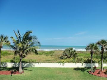 Cocoa Beach condo rental - Great ocean views from balcony. Sit and watch the waves roll onto the beach.