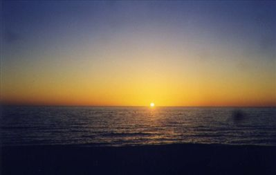 Enjoy the beautiful sunsets at Bonita Beach.