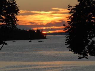 Deer Isle - Stonington house photo - Sunset over the Harbor