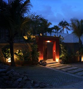 Your entrance into the villa...