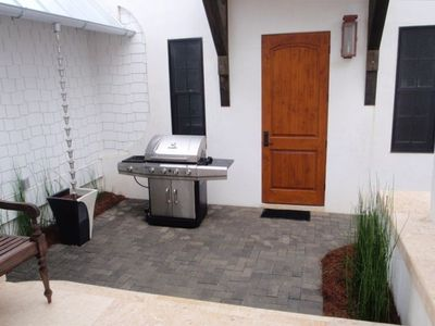 Private Patio for Grilling