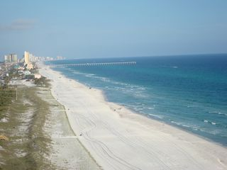 Ocean Reef condo photo - View of Panama City Beach coastline from your east END unit balcony