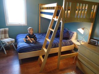 Miminegash cottage photo - BR #2 Ready to sleep, play or read.