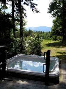 Jacuzzi maintained for year round use