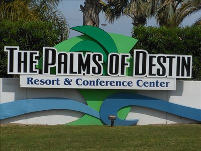 The Palms Of Destin, Resort & Conference Center in the heart of Destin, Florida!