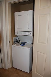Las Vegas condo rental - Washer/Dryer