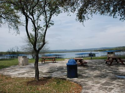 Picnic Area - 2 BBQ Grills & Fire Pit (lake full at 681 ft)