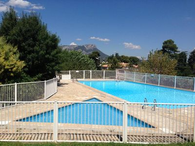 A 500M FROM THE BEACH, House with terrace, garden, pool, tennis, WIFI
