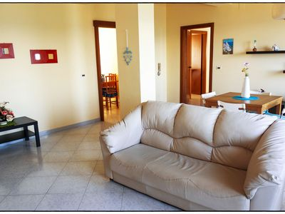 Antares apartment 100 meters from the sea (165sqm)