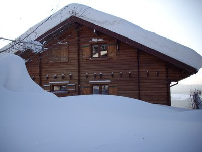 Independent charming chalet of 85 m2
