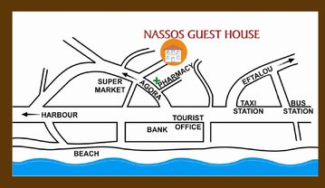 Route to Nassos house