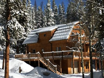 Baldy Mountain Breckenridge cabin rental - 300 days of sun and 300 inches of snow!
