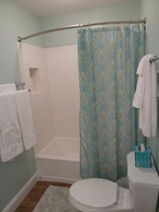3rd bath with tub/shower combo.
