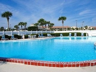 St. Augustine condo rental - 2 Beautiful Pools just steps from the unit