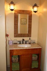 Princeville condo photo - Guest bathroom - completely remodeled - new vanity with granite top