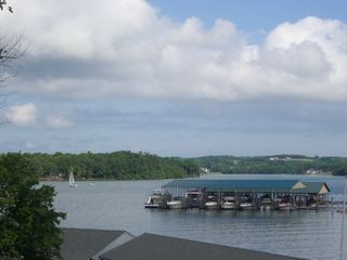 Huddleston house photo - Breathtaking wide water views from our deck!