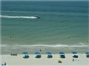 Your View From the Balcony on to the beach & the Gulf of Mexico