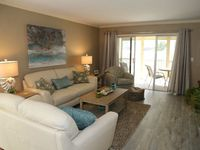 Beautifully remodeled first floor beachfront condo at Sand Caper