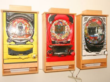 Pachinko Pinball in the Games room