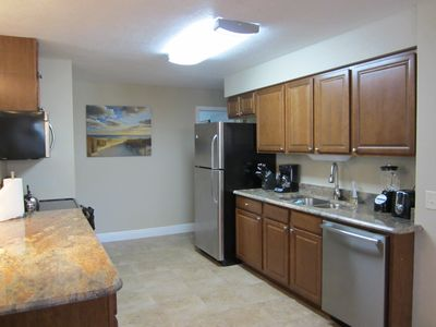 Beautiful brand new kitchen with all untensils and appliances