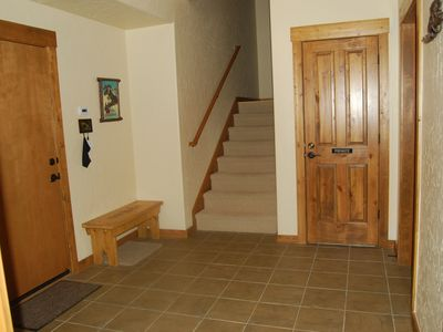 Entry Way / Mud Room- Plenty of room for changing for skiing.