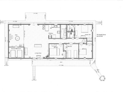 Angel Fire house rental - Floor plan