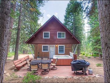 Agate Bay townhome rental - Carnelian Bay Cabin in the Woods